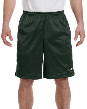Long Mesh Shorts with Pockets