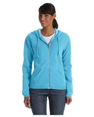 Women's Garment-Dyed Full-Zip Hoodie