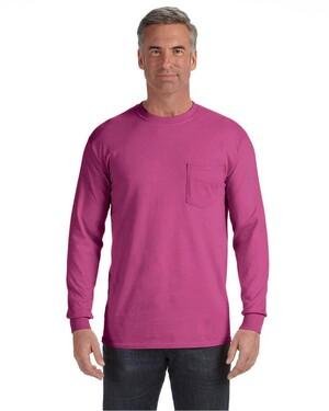 6.1 oz. Long-Sleeve Pocket T-Shirt