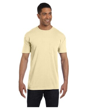 100% Cotton Garment-Dyed Pocket T-Shirt