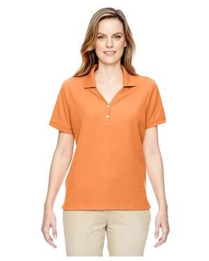 Women's Pima Pique Short-Sleeve Polo