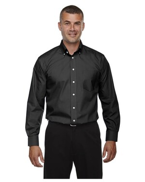 Men's Tall Crown Collection Solid Broadcloth