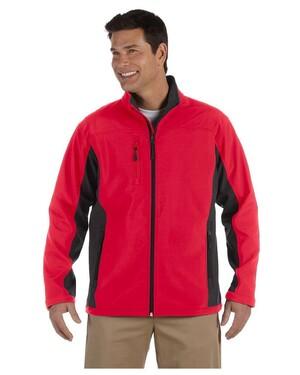 Men's Soft Shell Colorblock Jacket