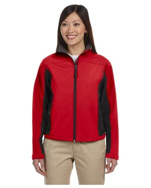 Women's Soft Shell Colorblock Jacket
