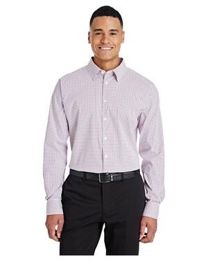Men's CrownLux Performance™ Micro Windowpane Shirt
