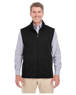 Men's Newbury Melange Fleece Vest