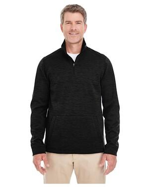 Men's Newbury Melange Fleece Quarter-zip