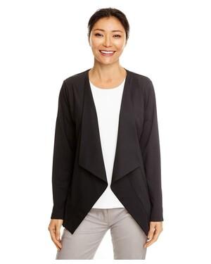 Perfect Fit™ Draped Open Blazer