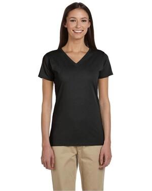 Women's 100% Organic Cotton V-Neck T-Shirt