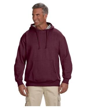 7 oz. Organic/Recycled Heathered Fleece Pullover Hood