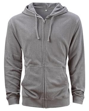 Unisex Hemp Hero Full-Zip hooded Sweatshirt