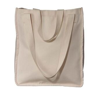 Organic Canvas Tote Reusable Shopping Bag