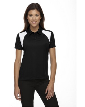 Ladies Eperformance Textured Polo Shirt