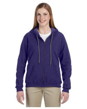 8 oz. Heavy Blend  Vintage Missy Fit Full-Zip Hoodie