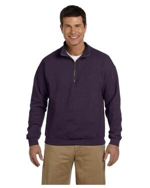 Heavy Blend Fleece Quarter-Zip Pullover