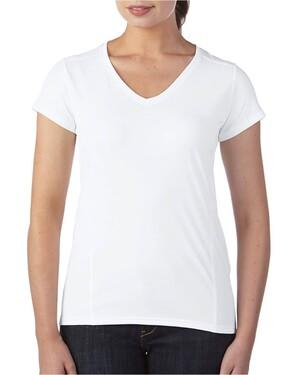 Ladies' Performance 4.7 oz. V-Neck Tech T-Shirt