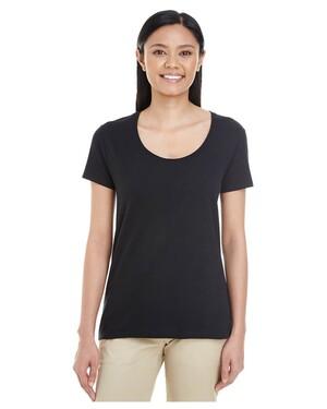 Ladies' Softstyle  4.5 oz. Deep Scoop T-Shirt