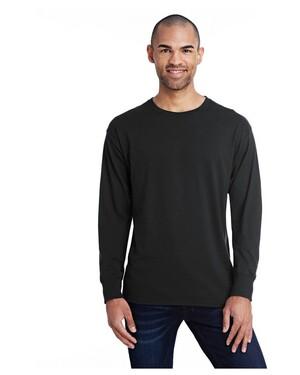 Men's 4.5 oz., 60/40 Ringspun Cotton/Polyester X-Temp Long-Sleeve T-Shirt
