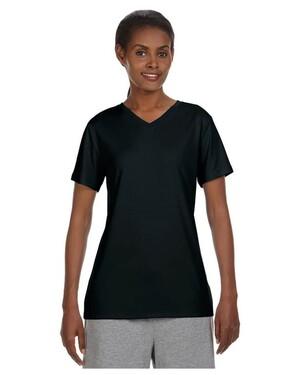 Women's 4 oz. Cool Dri V-Neck T-Shirt