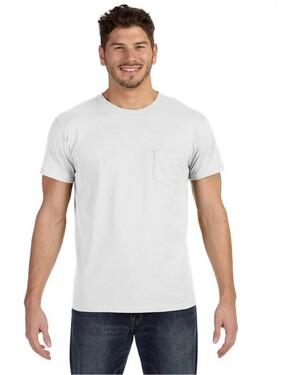 4.5 oz., 100% Ringspun nano T-Shirt with Pocket