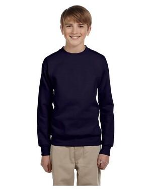 Youth 7.8 oz. ComfortBlend EcoSmart 50/50 Fleece Crewneck Sweatshirt