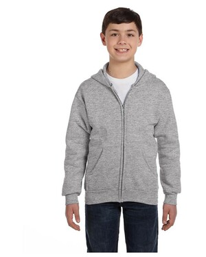 Youth 7.8 oz., 50/50 EcoSmart Full-Zip Hoodie