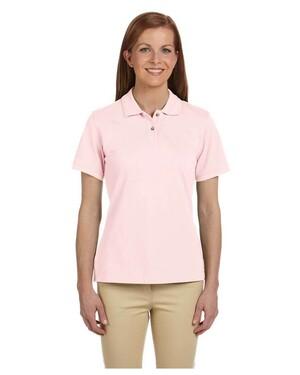 Women's Short-Sleeve Pique Polo