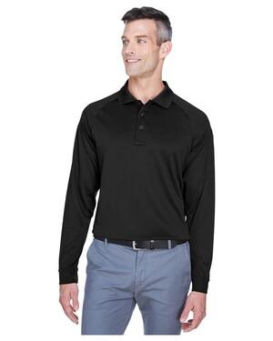 Men's Tactical Long-Sleeve Performance Polo Shirt