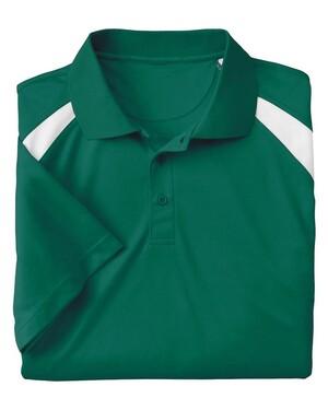 4 oz. Polytech Colorblock Polo Shirt