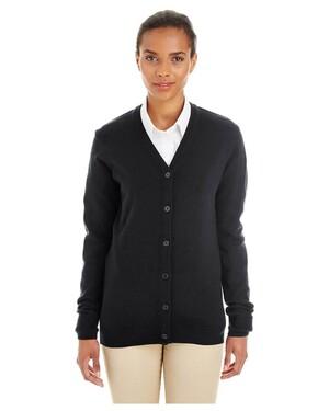 Ladies' Pilbloc™ V-Neck Button Cardigan Sweater