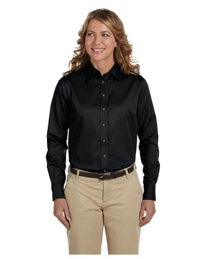Women's Twill Shirt with Stain-Release