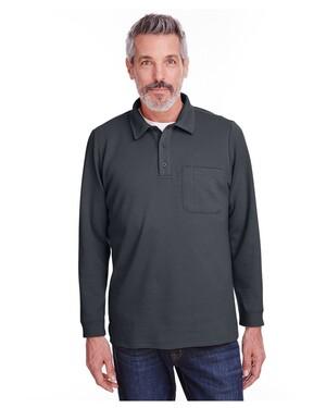 Adult StainBloc™ Pique Fleece Pullover Jacket