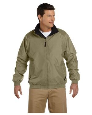 Fleece-Lined Nylon Jacket