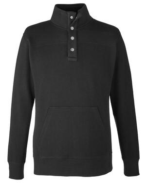 Ripple Fleece Snap Pullover