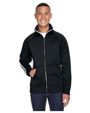 Adult Vintage Poly Fleece Track Jacket