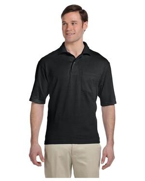 50/50 Pocket Polo Shirt with SpotShield
