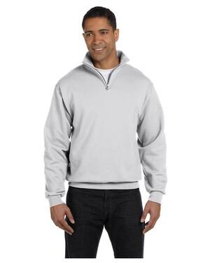 Quarter-Zip Sweatshirt with Cadet Collar