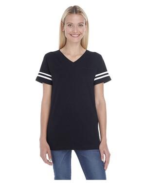 Women's Football Fine Jersey T-Shirt