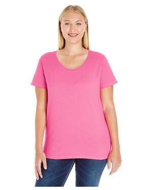 Ladies' Curvy Premium Jersey T-Shirt