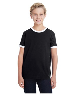 Youth Soccer Ringer T-Shirt