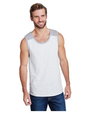 Men's Contrast Back Tank Top
