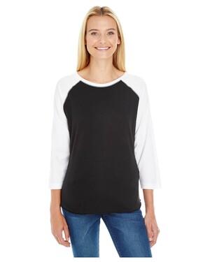Women's Baseball Fine Jersey T-Shirt