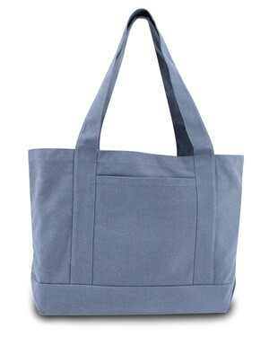 Seaside Cotton Canvas 12 oz. Pigment-Dyed Boat Tote