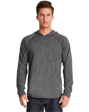 Unisex Mock-Twist Raglan T-Shirt Hoodie