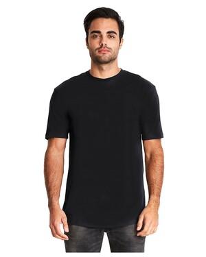 Men's Cotton Long Body Crew T-shirt