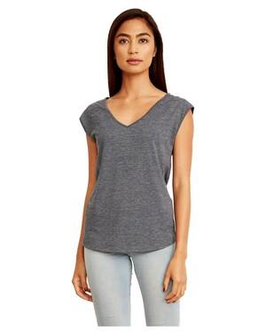 Women's Festival Sleeveless V-neck T-shirt