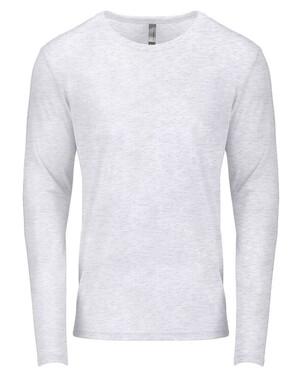 Men's Tri-Blend Long-Sleeve Crew T-Shirt