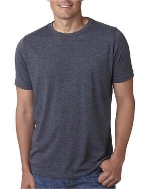 Men's Poly/Cotton Short-Sleeve Crew T-Shirt