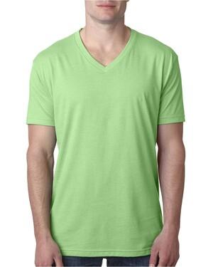 Men's Premium CVC V-Neck T-Shirt
