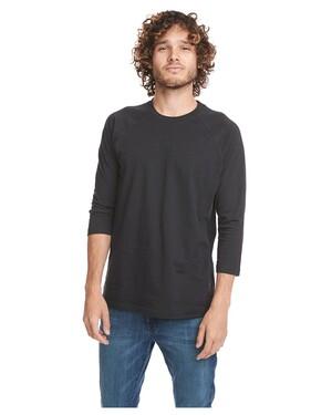 Unisex CVC 3/4 Sleeve Raglan Baseball T-Shirt